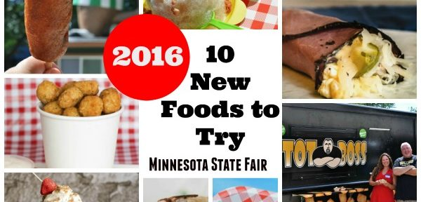 Minnesota State Fair Foods 2016