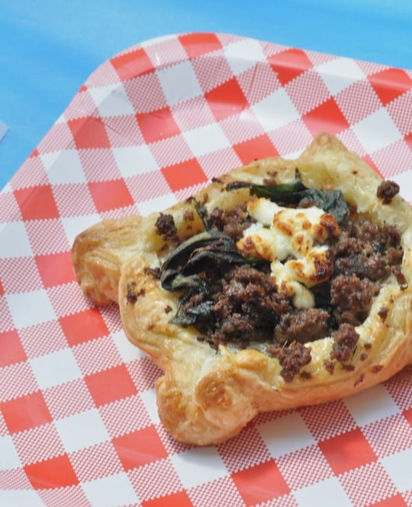 Minnesota State Fair Foods 2016 Rustic Beef Pastry