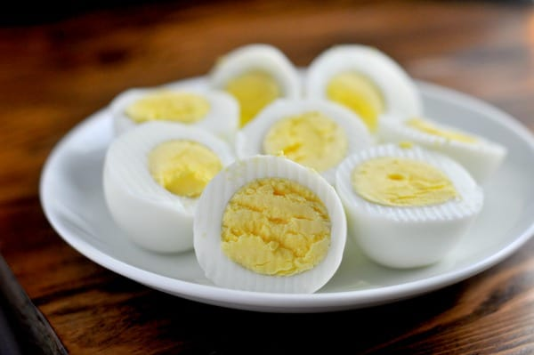 Instant Pot Hard Boiled Easy Recipe Simple A simple recipe for making Instant Pot hard boiled eggs. It's an easy way to make big batches of hard boiled eggs and help with meal planning. This easy recipe makes delicious hard boiled eggs perfect for breakfast, lunch or to use in your favorite Egg Salad or Deviled Egg recipes. http://diningwithalice.com/instant-pot/instant-pot-hard-boiled-eggs/