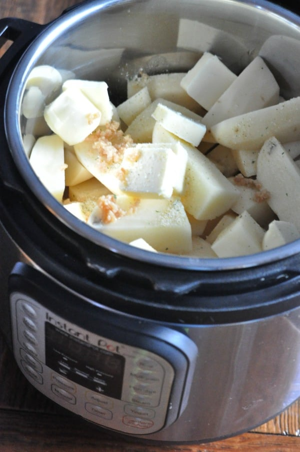 How To Cook Potatoes In Instant Pot For Mashed Potatoes