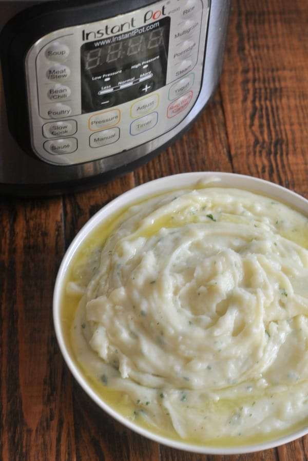 Instant Pot Mashed Potatoes Butter