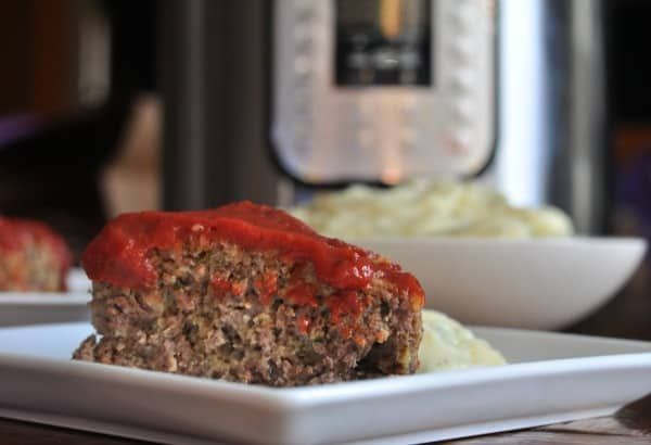 Instant Pot Meatloaf Beef