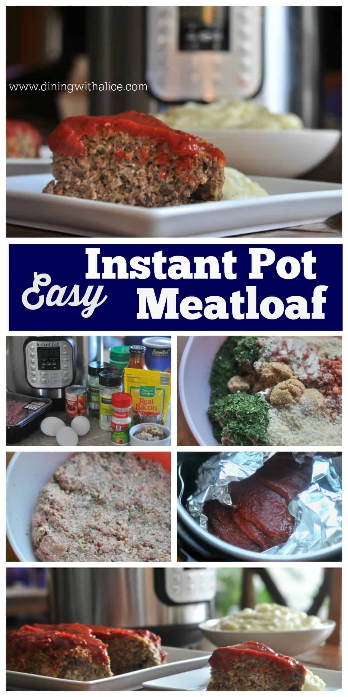 Instant Pot Meatloaf Easy Recipe with Steps