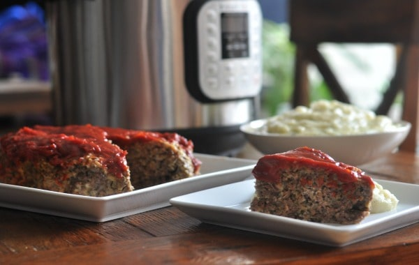 Instant Pot Meatloaf Mashed Potatoes Family meal