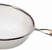 Winco MS3A-8S Strainer with Single Fine Mesh, 8-Inch Diameter