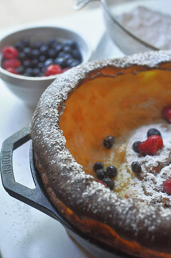 Lemon Dutch Baby Pancake
