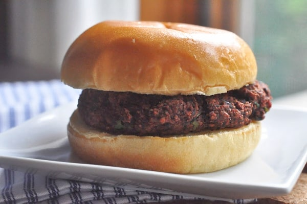 Mushroom and Beet Black Bean Burger how to make not mushy